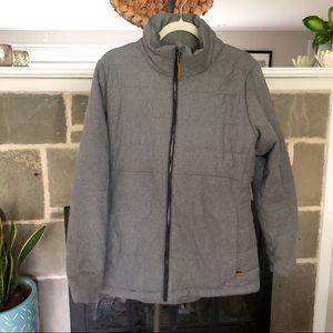 COLUMBIA   Insulated Puffy Warm Winter Coat Gray
